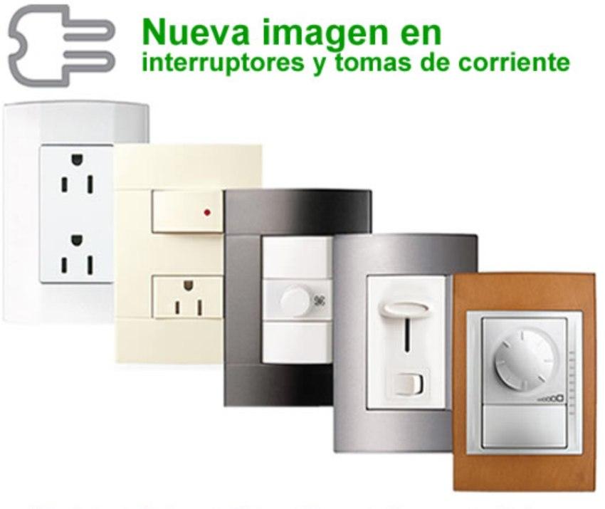 Apagadores placas contactos e interruptores material - Interruptores y enchufes ...
