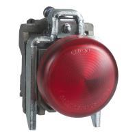 Piloto luminoso redondo 22- IP65 Rojo XB4BV63