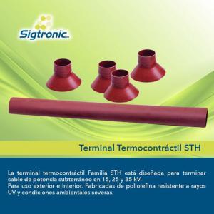Terminal Termocontráctil, Conos de Alivio