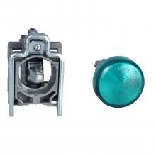 Piloto luminoso redondo 22- IP65 verde XB4BV63